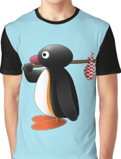 Pingu the Penguin Graphic T-Shirt