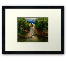 Haunted by the Waters Framed Print