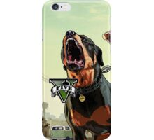 Grand Theft Auto 5 W/Dog iPhone Case/Skin