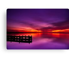 """Swan Bay Serenity"" Canvas Print"