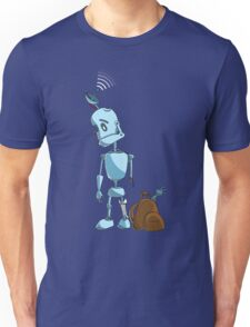 Searching robot Unisex T-Shirt