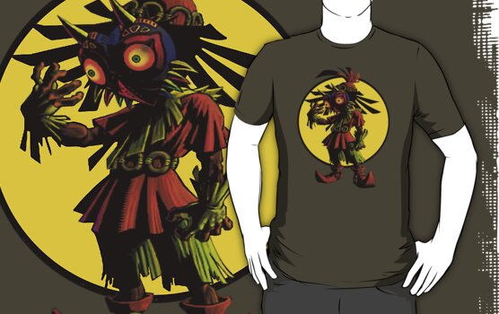 Zelda Majoras Mask Skull Kid  by jackandcharlie