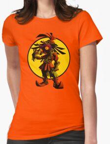 Zelda Majoras Mask Skull Kid  Womens Fitted T-Shirt