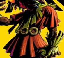 Zelda Majoras Mask Skull Kid  Sticker