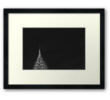 Chrysler Crown Framed Print