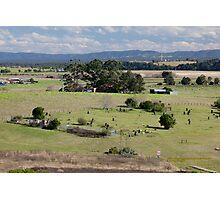Historic Glebe Cemetery, East Maitland, NSW Photographic Print