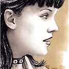 Pauley Perrette miniature by wu-wei