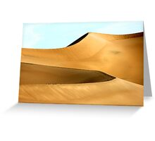 Dune Perfection Greeting Card