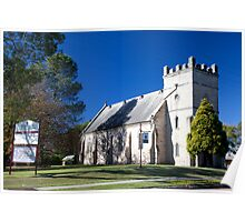 St James' Anglican Church (1840), Morpeth, NSW Poster