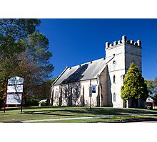 St James' Anglican Church (1840), Morpeth, NSW Photographic Print