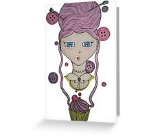 Knitting Obsession Greeting Card