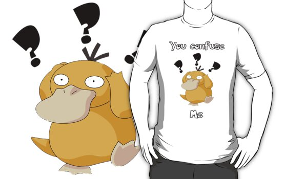 Confused Psyduck by kalilak
