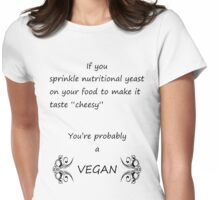 Nutritional Yeast Womens Fitted T-Shirt