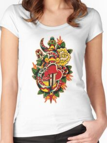 Spitshading 032 Women's Fitted Scoop T-Shirt