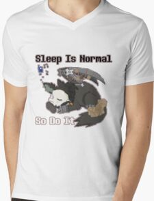Sleep is Normal Mens V-Neck T-Shirt