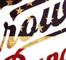 Zac Brown Band American Logo Sticker