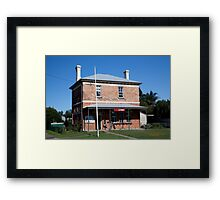 Post Office, Paterson, NSW Framed Print
