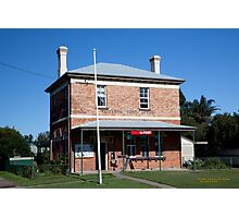 Post Office, Paterson, NSW Photographic Print