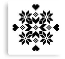 Snöflinga Canvas Print