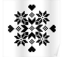 Snöflinga Poster