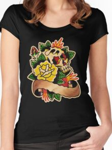 Spitshading 041 Women's Fitted Scoop T-Shirt