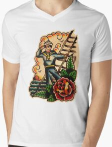 Spitshading 048 Mens V-Neck T-Shirt