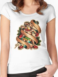 Spitshading 057 Women's Fitted Scoop T-Shirt