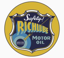 Richlube Vintage Motor Oil by JohnOdz