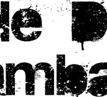 Chucky Voodoo Spell -Ade Due Damaballa-  Sticker