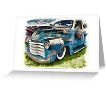 Old Pick Up  Greeting Card