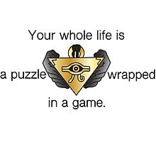 A Puzzle Wrapped in a Game by kingamongknight