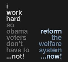 Reform The Welfare System by morningdance