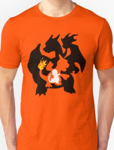 Charmander - Charmeleon - Charizard T-Shirt