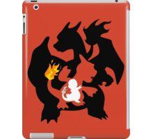 Charmander - Charmeleon - Charizard iPad Case/Skin