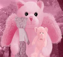 ❀◕‿◕❀HUGS,A KISS AND AFFECTION FROM A BEARY SPECIAL ANGEL CARD/PICTURE❀◕‿◕❀ by ╰⊰✿ℒᵒᶹᵉ Bonita✿⊱╮ Lalonde✿⊱╮