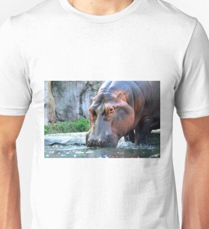 Hippopotamus ( Hippopotamus amphibius ) Unisex T-Shirt