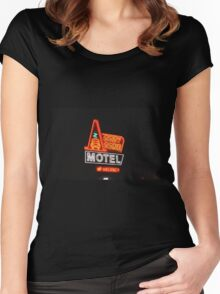Cozy Cone Motel Women's Fitted Scoop T-Shirt