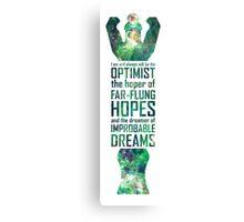 Dreamer of Improbable Dreams Canvas Print