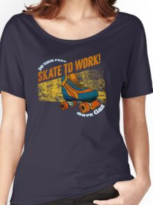 Skate to Work! Women's Relaxed Fit T-Shirt