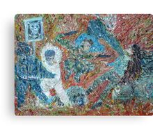 ADEPTS OF THE ILLUSION AND THE MASK Canvas Print