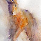 Orange Hare by Ruth Nolan