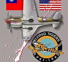 flying tigers by redboy