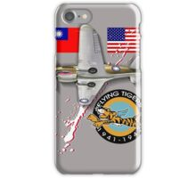 flying tigers iPhone Case/Skin