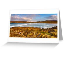 SANDEND - APRIL BEACH Greeting Card