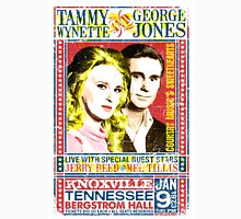 Tammy Wynette and George Jones. Concert Poster. Knoxville. Nashville. TN. T-Shirt