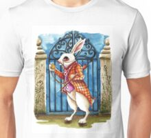 The White Rabbit - Late again Unisex T-Shirt