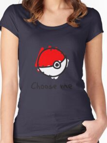 Choose me Women's Fitted Scoop T-Shirt