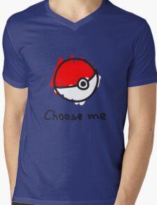 Choose me Mens V-Neck T-Shirt