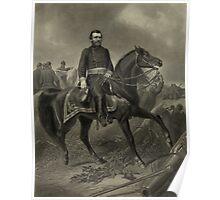 General Grant On Horseback Poster