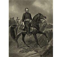 General Grant On Horseback Photographic Print